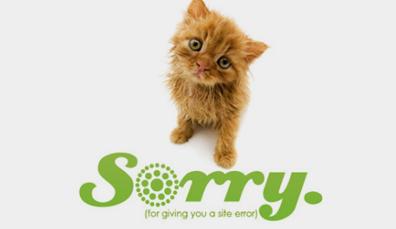 怎样让你的404页面变的更加实用?
