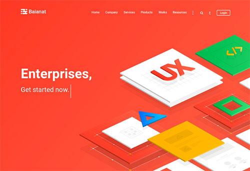 即将成为网站建设主流的3种着陆页排版设计