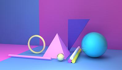 网站banner设计中常用的三种形状