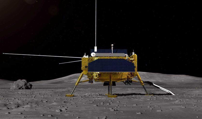 质疑美国登月真实性?中国玉兔月球车传回照片,终于揭开当年真假
