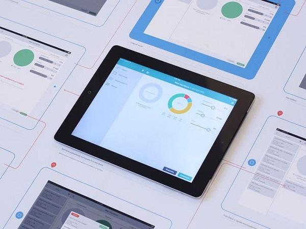 开发移动APP中APP的UI设计流程主要分别有哪一些?