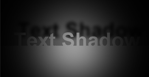 CSS3 text-shadow字体阴影